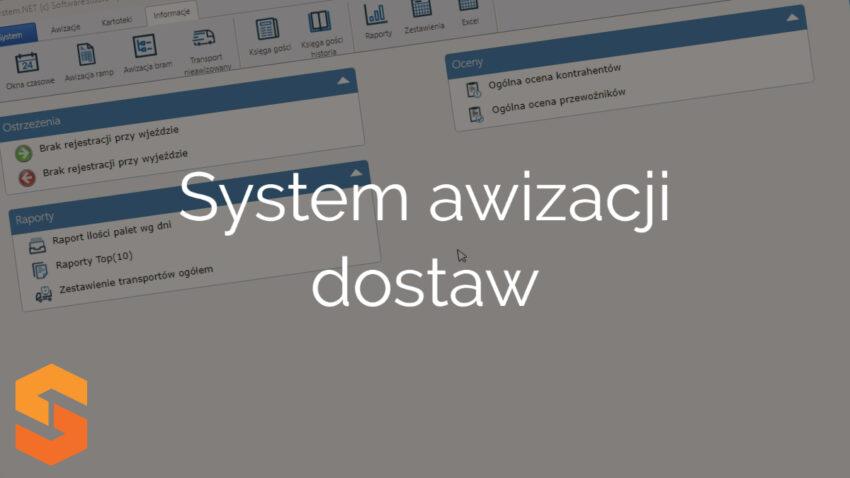 System awizacji dostaw